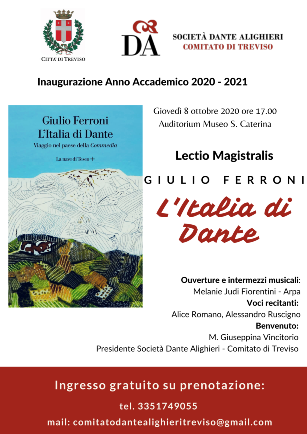 08.09.20 | Inaugurazione anno accademico 2020-2021