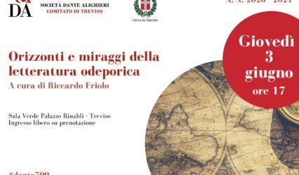 """03.06.21 """"Orizzonti e miraggi della letteratura odeporica"""" a cura di Riccardo Friolo"""